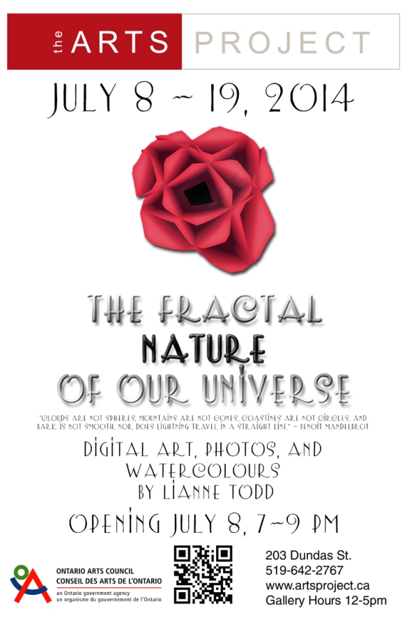 Poster - The Fractal Nature of Our Universe