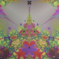 "Butterfly Hub Digital Art printed on metal, single edition 20x20"" $345.00"
