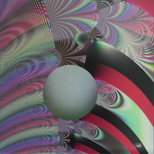 "The Ball Went Over the Fence 3, Lianne Todd. Original Fractal Digital Art, single edition print on metal, 16x16"". $225.00"