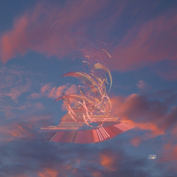 fractal, ethereal, sky, Lianne Todd