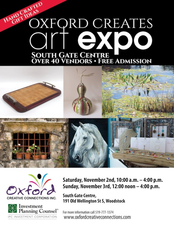 Oxofrd Creates Art Expo Poster